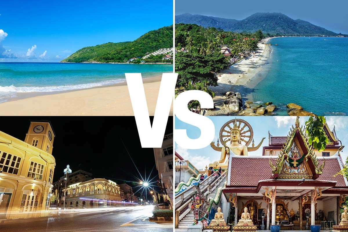 Phuket Vs. Koh Samui: Putting Them to the Test