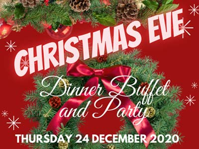 Christmas Eve Dinner Buffet and Party